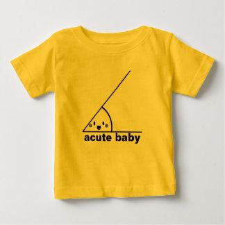 Roligt akut vinkelt geeky t-shirt