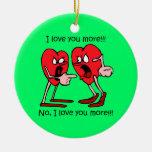 Roligt älskar jag dig juldekoration