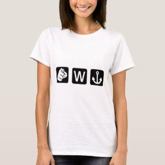 Roligt ankrar du W damT-tröja T Shirt