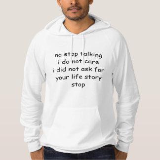 Roligt asocialt formulerar hoodien sweatshirt