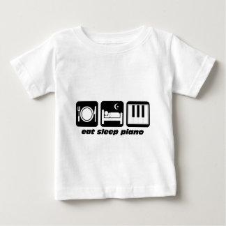 Roligt äta sömnpianot t-shirts