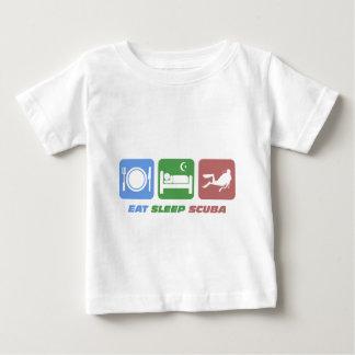 roligt äta sömnscubaen t-shirt