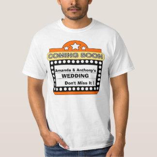 roligt bröllop, skjorta för förlovning t tshirts