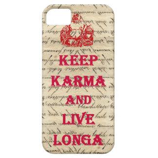 Roligt Buddha ordstäv iPhone 5 Skydd