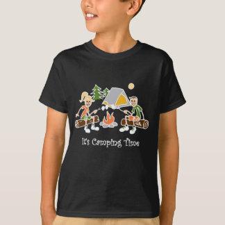 Roligt campar det Time den utomhus- sporten T Shirt