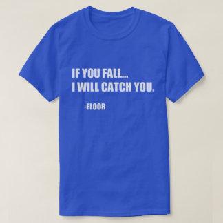 Roligt citationstecken: Om dig nedgång T-shirts
