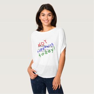Roligt citationstecken som adulting att inte hända t-shirt