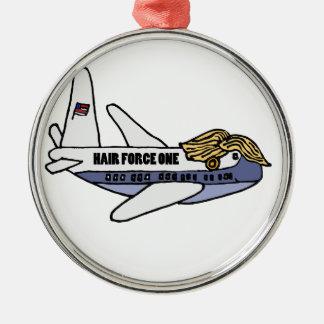 Roligt Donald Trump presidents- flygplan Julgransprydnad Metall