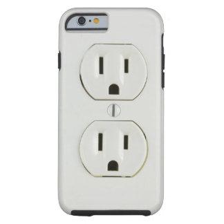 Roligt elektriskt uttag tough iPhone 6 fodral