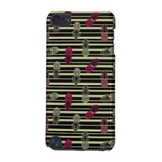 Roligt färgrikt tropiskt ananasmönster iPod touch 5G fodral