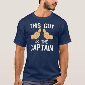 Roligt fartygkaptenordstäv t shirt