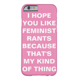 Roligt feministiskt fodral för iPhone 6 Barely There iPhone 6 Fodral