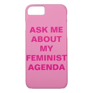 Roligt feministiskt fodral för iPhone 7