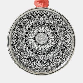 Roligt för indisk stil för Wellcoda dräkt keramisk Julgransprydnad Metall