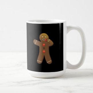Roligt Gingerbreadman äta som är självt Kaffemugg