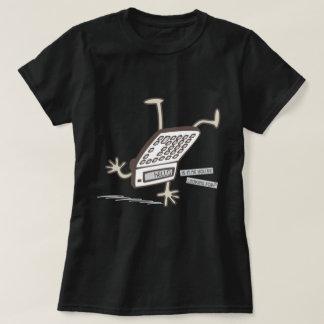 Roligt grafiskt för hejer (uppochnervänt t-shirts