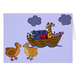 Roligt hälsningkort för Dodo EC Hälsningskort