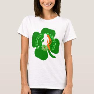 Roligt irländskt dricka för flickast patricks day t shirt