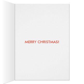 roligt julkort hälsningskort