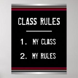 Roligt klassificera regleraffischen poster