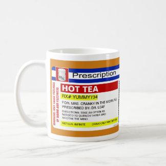 Roligt mugg för Tea för anpassningsbarpersonlig