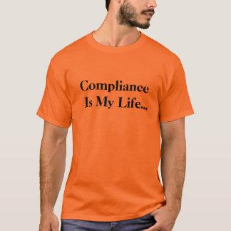 Roligt överensstämmelsekontorscitationstecken och t-shirts