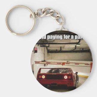 roligt parkera nyckel ring