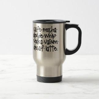 Roligt reser kaffe koppar - recept för Sanity
