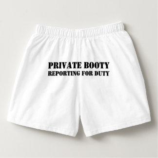 Roligt sarkastiskt citationstecken för privat boxers