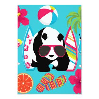 Roligt surfa för solglasögon för coola för lodis 12,7 x 17,8 cm inbjudningskort