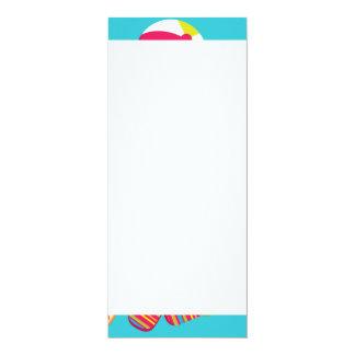 Roligt surfa för solglasögon för coola för lodis 10,2 x 23,5 cm inbjudningskort