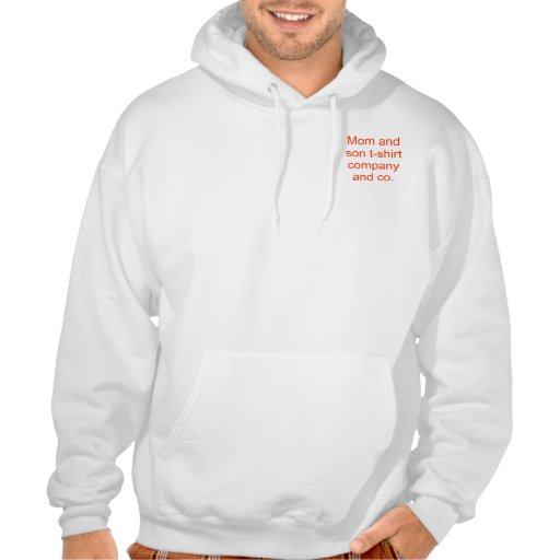Roligt t-skjorta för mamma och för son företag sweatshirt