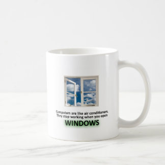 Roligt Windows skämt - GeekShirts Kaffe Kopp