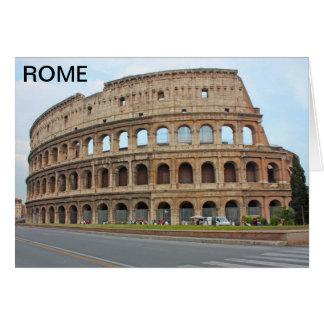 Roma coliseum hälsningskort