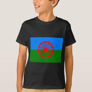 Roma flagga (den Romani flagga) Tee Shirt