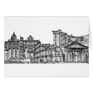 Roma Rome… reser souvenirgåvor Hälsningskort