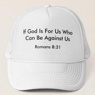 Romans8:31 Truckerkeps