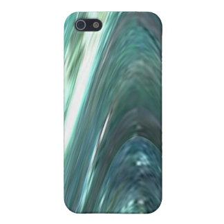 Romantik av ensamhet - djupt vatten, lila n ler iPhone 5 skal