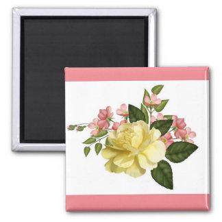 Romantik i blom kvadrerar magneten magnet