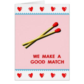 Romantiker Hälsningskort