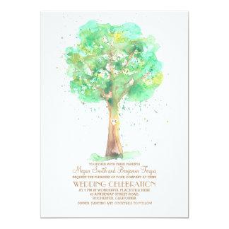 Romantisk bröllopsinbjudningar för 12,7 x 17,8 cm inbjudningskort