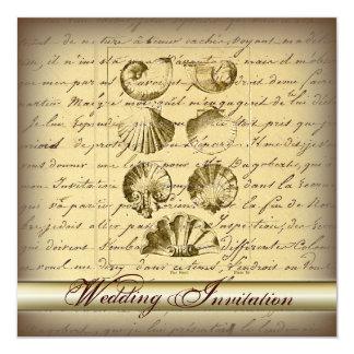 Romantisk elegant inbjudan för