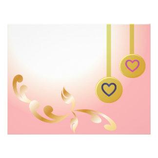 romantisk reklamblad reklamblad 21,5 x 30 cm