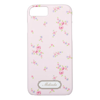Romantisk Roblek - rosa fodral för iPhone 7