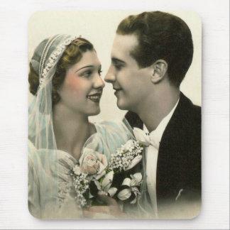 Romantiskt bröllop mus mattor