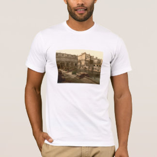 Romarebad och Abbey mig, bad, Somerset, England Tee Shirts