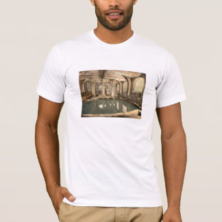 Romarebad och Abbey V, bad, Somerset, England T Shirt