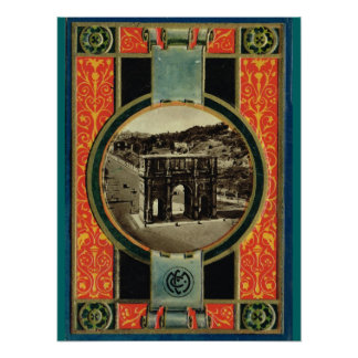 Rome båge av Constantine Poster