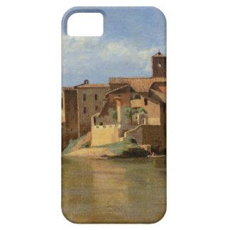 Rome basilicaen av Constantine av Camille Corot iPhone 5 Fodraler