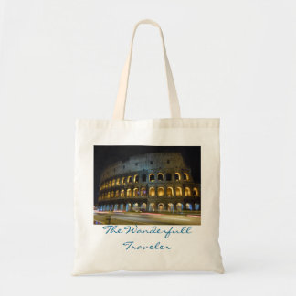 Rome Colosseum natt Tygkasse